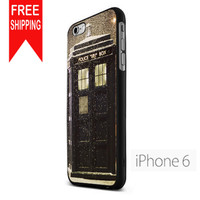 Doctor Who Tardis In Snow Doctor TMN iPhone 6 Case