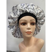 Black Dior Bonnet