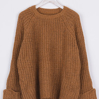 Cupshe Anywhere With You Casual Sweater