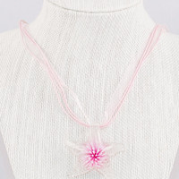 Glow in the dark starfish necklace