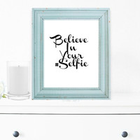Inspirational Quote Print, Wall Decor, Motivational Poster, Printed Art, Shabby Chic, Home Decor, Teen Gift Ideas, Decorative Print - PT0001