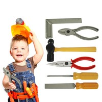 6pcs/Set Repair tools Pretend Play toys For Children Play House Toys Baby Early Learning Education toys Simulation tools toys