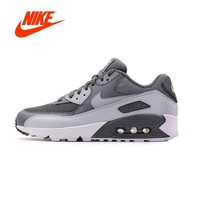 Original New Arrival Authentic NIKE Men's AIR MAX 90 ESSENTIAL Breathable Running Shoes Sneakers Sport Outdoor 537384-073