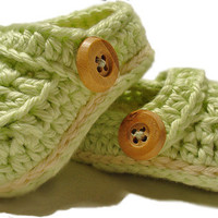 Crochet baby booties crochet Mock crocs by 2kute on Etsy