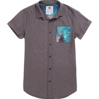 On The Byas Ryder Cosmic Pocket Short Sleeve Woven Shirt at PacSun.com