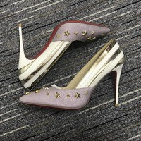 Christian Louboutin Cl Pumps High Heels Reference #02bk26 - Best Deal Online