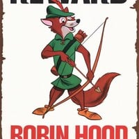Robin Hood 11x17 Movie Poster (1973)