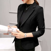 Boyfriend Slim Fit Formal Jackets Business Jacket