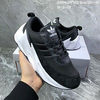 hcxx A1130 Adidas Sharks Concept 2019 Fashion Casual Running Shoes Black White