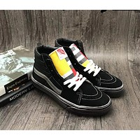 Vans OLD SKOOL Black Sk8-Hi 1966 Top Women Sneaker Flats Shoes Canvas Sport Shoes-1