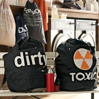 """Toxic"" + ""Dirty"" Laundry Backpacks"