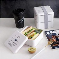 Square Healthy Material Lunchbox