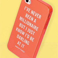 kate spade new york 'millionaire quote' iPhone 5 case   Nordstrom