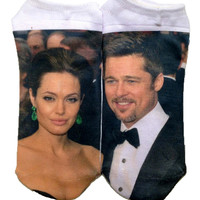 BRAD AND ANGELINA SOCKS