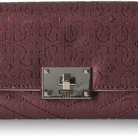 GUESS Halley Slim Clutch Wallet