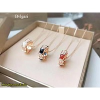 Bvlgari New fashion diamond ring pendant women necklace women