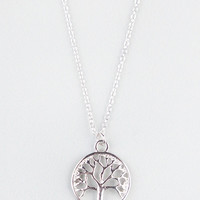 FULL TILT Tree Pendant Necklace | Necklaces