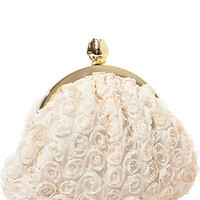 BETSEYS ROSEBUD CLUTCH