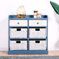 Bedside Table Chest Cabinet Storage