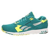 Reebok Inferno Classic Teal White Yellow Black Hexalite V52325 Mens Casual Shoes