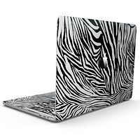 Toned Zebra Print - MacBook Pro with Touch Bar Skin Kit
