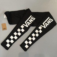 VANS Pro Exercise Fitness Gym Running Training Leggings