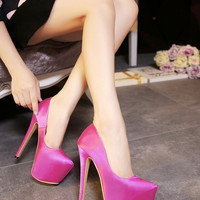 High Heel Water Proof Waterproof Shoes = 4814708740