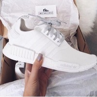Tagre™ Adidas NMD Trending Fashion Casual Sports Shoes white
