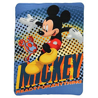 Kids Fleece Throw Blankets 46 x 60 Several Options (Mickey Mouse Club House)