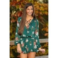 Unbroken Promises Romper-Hunter