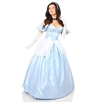 Daisy Top Drawer 6 PC Fairytale Princess Corset Costume