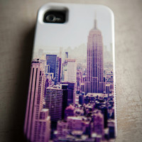 iPhone 5 case - New York City print,  iPhone hard case - The City - photography, accessories for iPhone, urban print, NYC design, iPhone 5