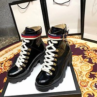 Gucci Women's Leather Boots Shoes