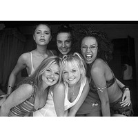 """Spice Girls Poster Black and White Poster 24""""x36"""""""