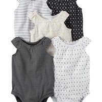 5-Pack Tank Top Bodysuits