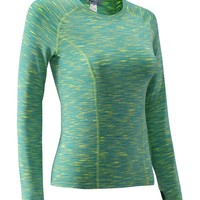 Nooz Women's Dry Fit Athletic Compression Long Sleeve Shirt