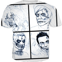 Monster/ Zombie Fall Out Boy Shirt