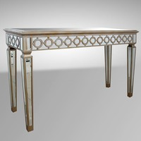 Modrest Hyde - Transitional Mirrored Console Table