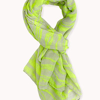 Breezy Abstract Striped Scarf