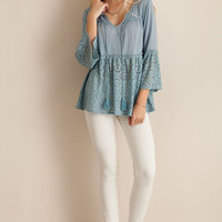 Gracie Laced Top