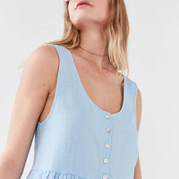Cooperative Oversized Linen Babydoll Dress | Urban Outfitters