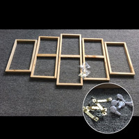 5pc Canvas Wall Art Wooden Frame Kits