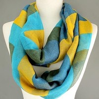 Scarves by Justbella's Chevron Infinity Scarf