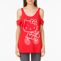 Biker Hello Kitty Tee