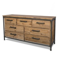 Bunker Hill 7 Drawer Dresser