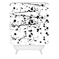 Natalie Baca Paint Play Three Shower Curtain