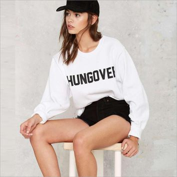 Hangover Long Sleeve Pullover