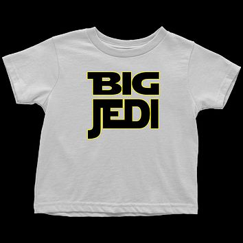 Big Jedi - Big Sibling Matching T-Shirt