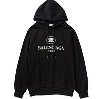 Balenciaga Women or Men Fashion Casual Top Sweater Hoodie