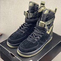 "Nike SF-AF1 High ""Black Medium Olive-Neutral Olive-Blackâ€"